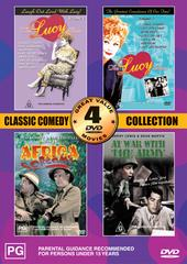 Classic Comedy Collection Volume One - 4 Movie Box Set  (2 Discs) on DVD