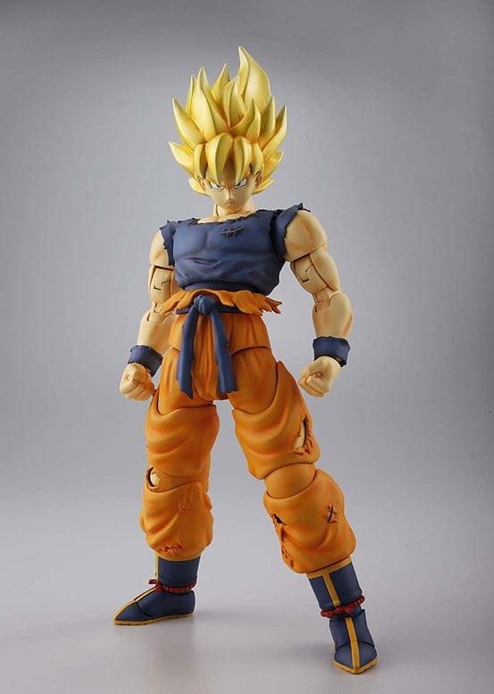 MG 1/8 Dragon Ball Z Figurerise Super Saiyan Goku Model Kit image