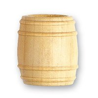 Artesania Latina Wooden Barrel 18mm x2