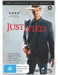 Justified - The Complete 1st Season on DVD