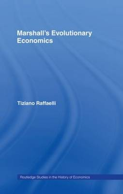 Marshall's Evolutionary Economics by Tiziano Raffaelli image