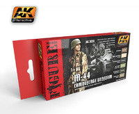 AK M-44 Camouflage Uniform Paint Set