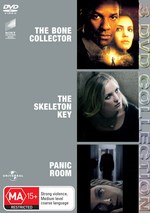 Bone Collector / Skeleton Key / Panic Room - 3 DVD Collection (3 Disc Set) on DVD
