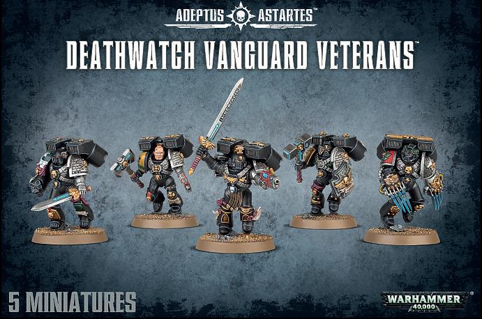 Warhammer 40,000 Deathwatch Vanguard Veterans image