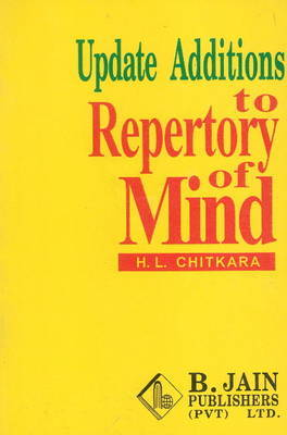 Updated Additions to Repertory of Mind by H.L. Chitkara image