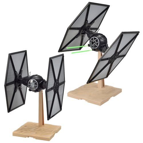 Star Wars 1/72 TFA First Order TIE Fighter - Scale Model Kit image