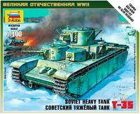 Zvezda 1/100 Soviet T-35