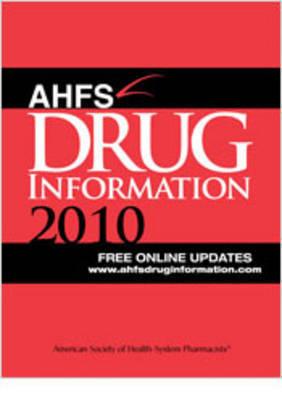 AHFS Drug Information 2010 image