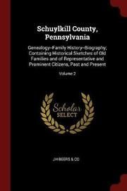 Schuylkill County, Pennsylvania by Jh Beers & Co image