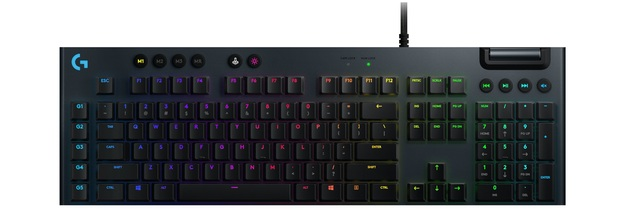 Logitech G815 RGB Mechanical Gaming Keyboard (GL Clicky) for PC