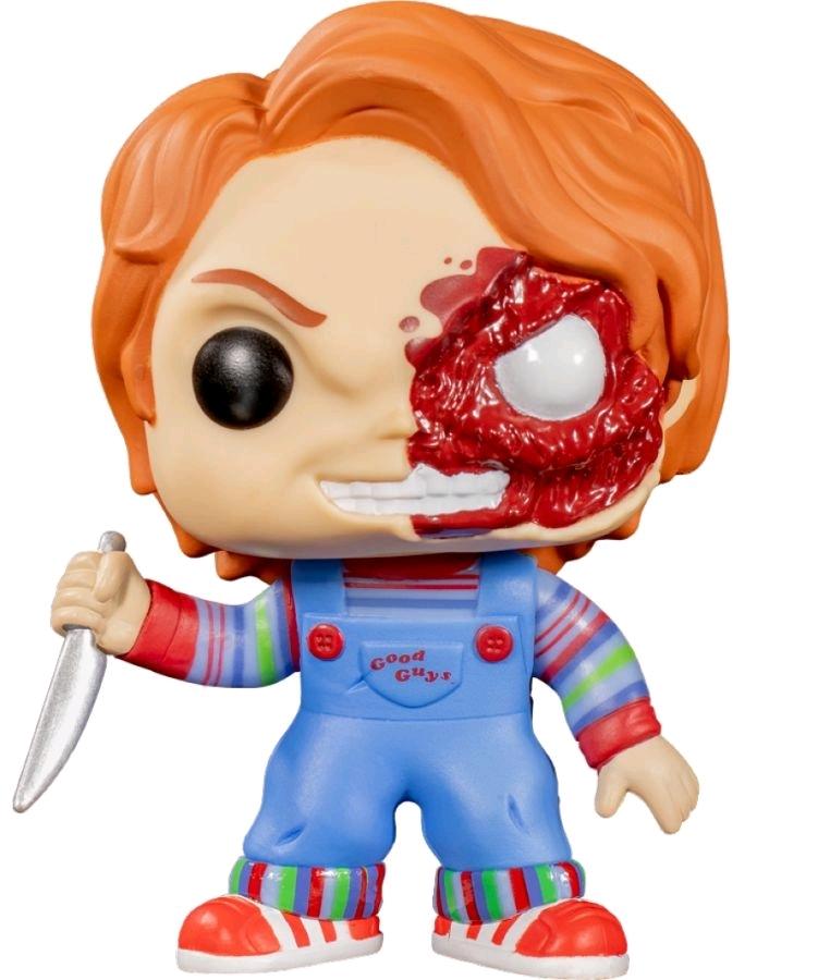 Child's Play: Chucky (Half Damaged) - Pop! Vinyl Figure image