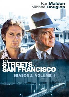 The Streets Of San Francisco - Season 2 - Volume 1 (3 Disc Set) on DVD