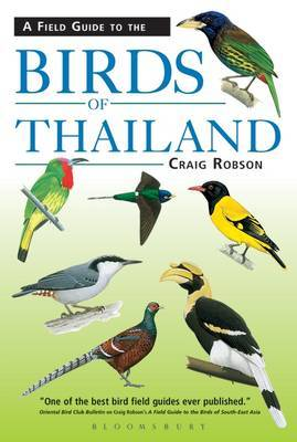 A Field Guide to the Birds of Thailand by Craig Robson image