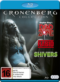 David Cronenberg Collection - Rabid/Shivers/Dead Zone on Blu-ray