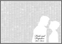 Spineless Classics Pride and Prejudice Print (119 x 84cm)