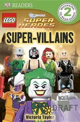 DK Readers L2: Lego DC Super Heroes: Super-Villains image