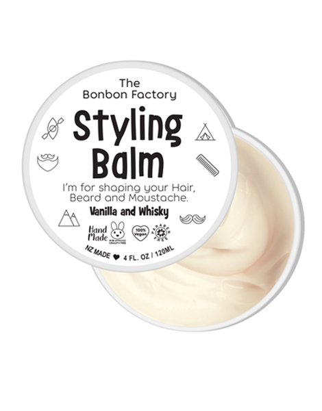 The Bonbon Factory Styling Balm - Vanilla & Whisky (120ml)