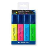 Staedtler: Textsurfer Classic Highlighter (Wallet of 4)