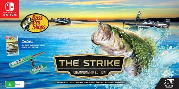 Bass Pro Shops The Strike Championship Edition bundle for Switch