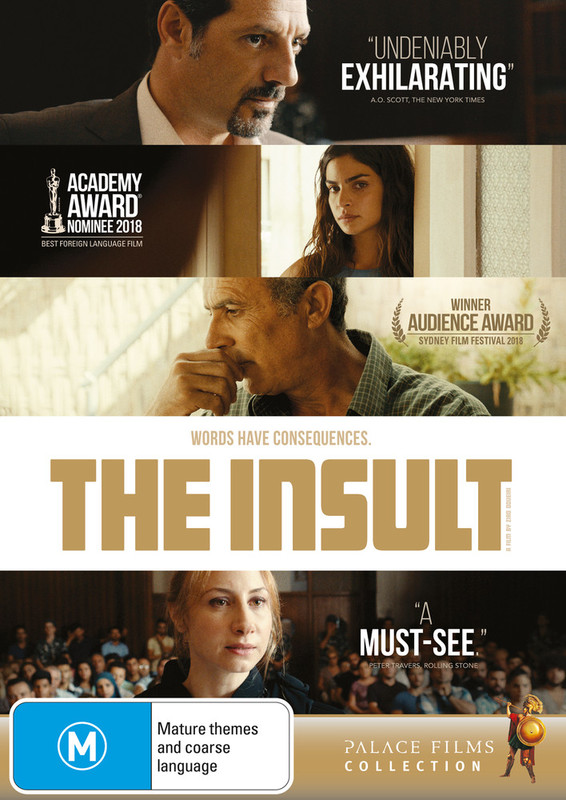 The Insult on DVD