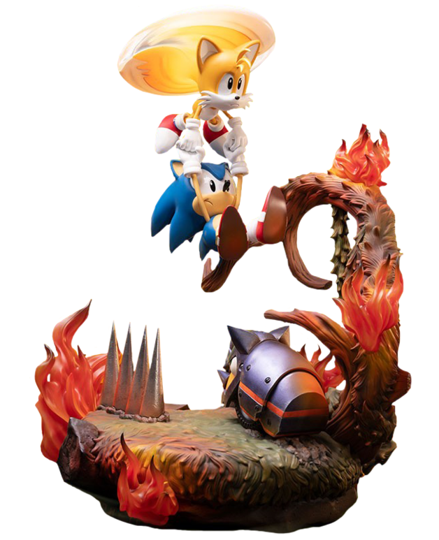"Sonic the Hedgehog: Sonic & Tails - 20"" Resin Statue"