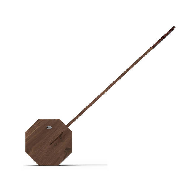 Octagon One Walnut Desk Lamp