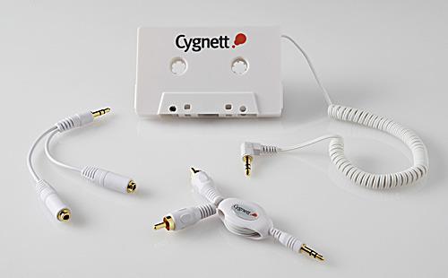 Cygnett MP3 GO - CASSETTE CONVERTER, SPLITTER + RCA CABLE