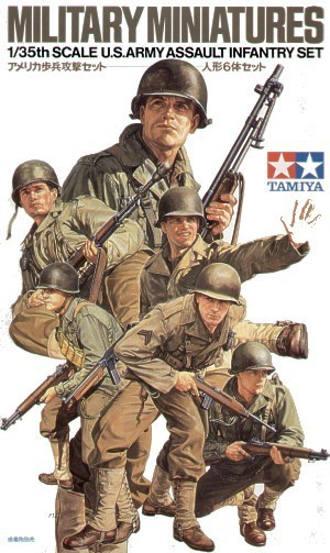 Tamiya U.S. Army Assault Infantry 1/35 Figure Set
