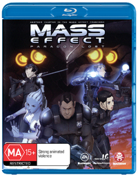Mass Effect: Paragon Lost on Blu-ray