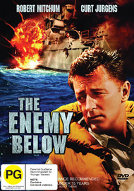 The Enemy Below on DVD image