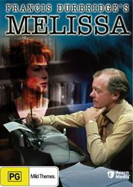 Melissa (Francis Durbridge's)  on DVD image