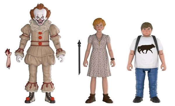 It (2017): Action Figure 3-Pack - Set #2