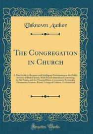 The Congregation in Church by Unknown Author image