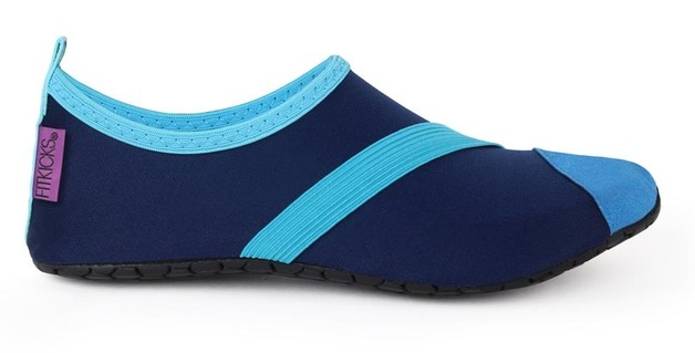 Fitkicks: Foldable Active Footwear - Navy (Medium)