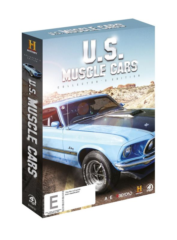 US Muscle Cars Collector's Edition on DVD