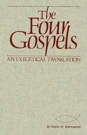 The Four Gospels by Boyce W. Blackwelder image
