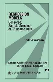 Regression Models by Richard Breen