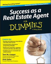 Success as a Real Estate Agent for Dummies, Australian & New Zealand Edition by Terri M. Cooper