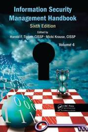 Information Security Management Handbook, Sixth Edition, Volume 4 image