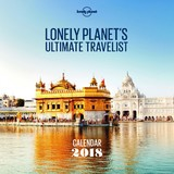 Lonely Planet Ultimate Travelist 2018 Wall Calendar by Lonely Planet