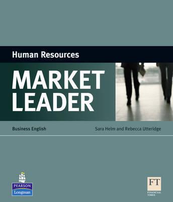 Market Leader ESP Book - Human Resources by Sara Helm image
