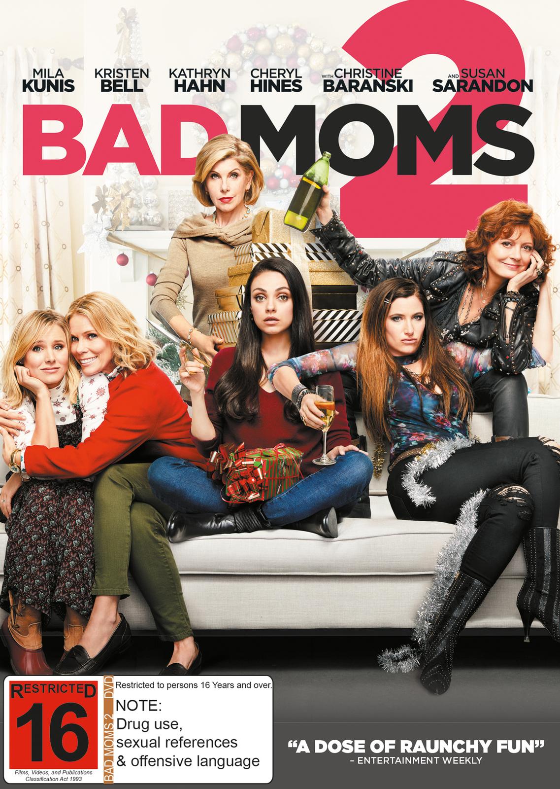 Bad Moms 2 on DVD image