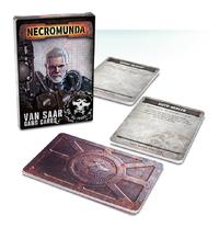 Necromunda: Van Saar Gang Cards