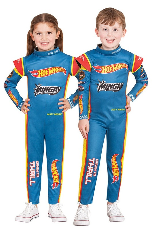 Hot Wheels - Racing Suit (Size 4-6)