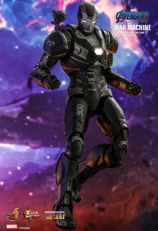 War Machine Endgame 12 Articulated Figure At Mighty Ape Nz
