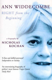 Ann Widdecombe: Right from the Beginning by Nick Kochan image