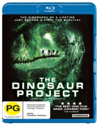 The Dinosaur Project on Blu-ray