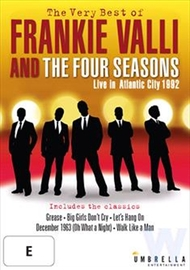 The Very Best of Frankie Valli and the Four Seasons: Live in Atlantic City DVD
