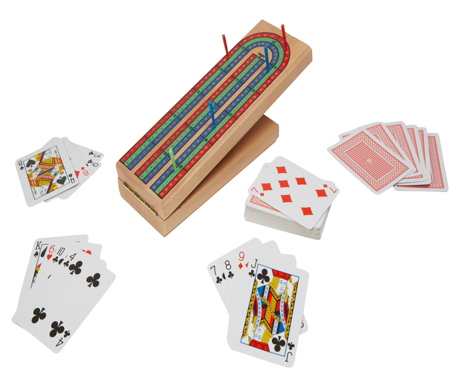 Ideal - Folding Wood Cribbage image