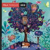 Mila Marquis 2018 Mini Wall Calendar